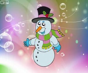 Puzle Boneco de neve