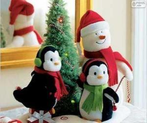 Puzle Bonecos de Natal