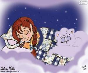 Puzle Bons sonhos. Desenho de Julieta Vitali