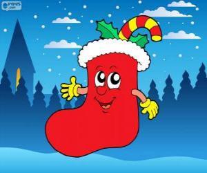 Puzle Bota de Papai Noel