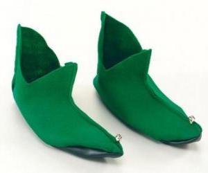 Puzle Botas do Elfo de Natal