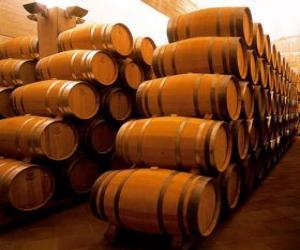 Puzle Botas para o vinho