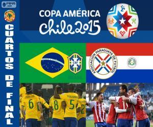 Puzle BRA - PAR, Copa América 2015