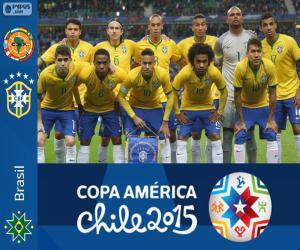 Puzle Brasil Copa América 2015
