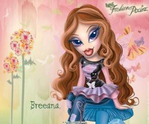 """Puzle Breeana é um tímido e solitário, é chamado de """"Haditha a moda"""", ela e sua família são fadas"""