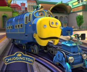 Puzle Brewster, locomotiva diesel-elétrica de Chuggington