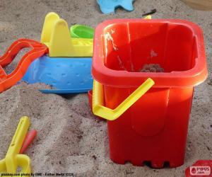 Puzle Brinquedos de areia
