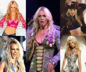 Puzle Britney Spears a princesa do pop