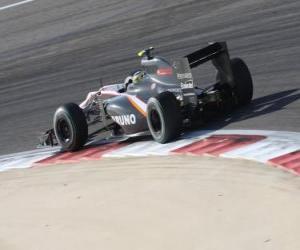 Puzle Bruno Senna - HRT - Bahrain 2010