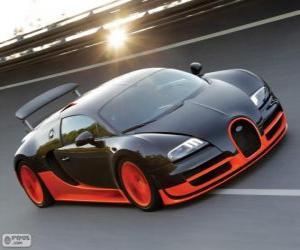 Puzle Bugatti Veyron Super Sport