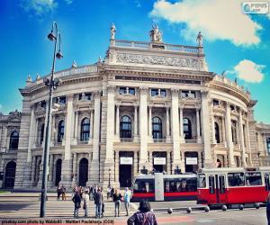 Puzle Burgtheater, Áustria
