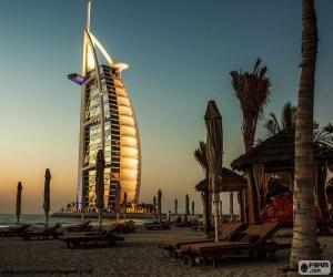 Puzle Burj Al Arab Jumeirah, Dubai