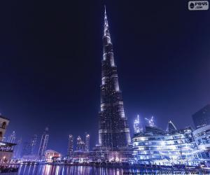 Puzle Burj Khalifa, Dubai