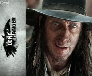 Puzle Butch Cavendish (William Fitchner) no filme O Cavaleiro Solitário