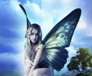 Puzle Butterfly Fairy