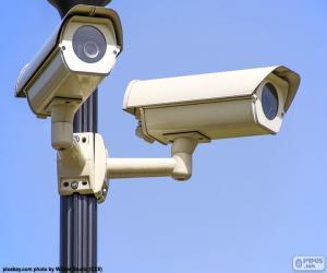 Puzle Câmeras de vigilância