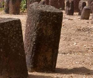 Puzle Círculos de pedra da Senegâmbia, Gâmbia e Senegal