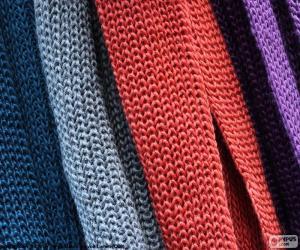 Puzle Cachecóis de lã