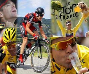 Puzle Cadel Evans vencedor do Tour de France 2011