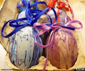 Puzle Caixa de ovos de Páscoa
