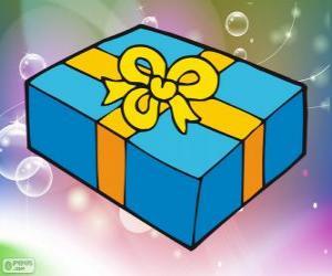Puzle Caixa de presente de Natal