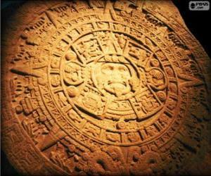 Puzle Calendário maia