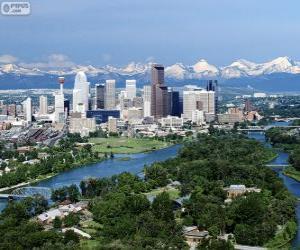 Puzle Calgary, Canadá