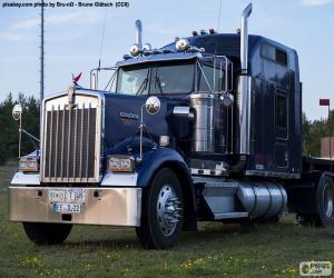 Puzle Caminhão americano