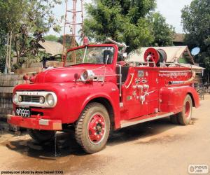 Puzle Caminhão de bombeiros, Birmânia