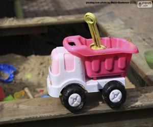 Puzle Caminhão de brinquedo