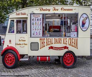 Puzle Caminhão de sorvete