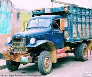 Puzle Caminhão Fargo, 1947