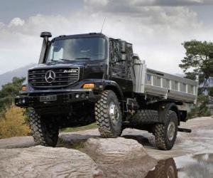 Puzle Caminhão Mercedes Benz Zetros