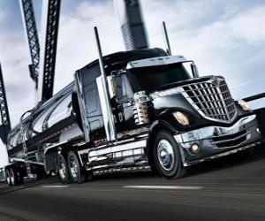 Puzle Caminhão preto grande