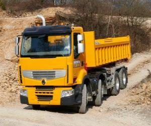 Puzle Caminhão Renault Premium Lander