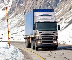 Puzle Caminhão Scania R 470