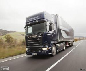 Puzle Caminhão Scania R 580 4×2 Streamline