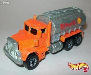 Puzle Caminhão-tanque, Hot Wheels