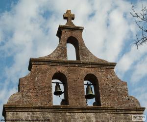 Puzle Campanário de uma igreja