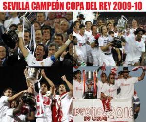 Puzle Campeão Sevilla da Copa del Rey 2009-2010