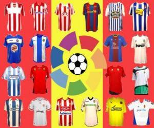 Puzle Campeonato da Espanha de Futebol - La Liga