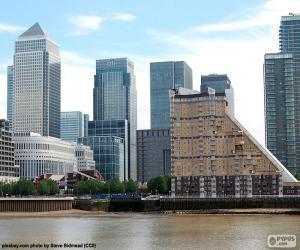 Puzle Canary Wharf, Londres