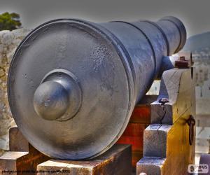 Puzle Canhão da defesa