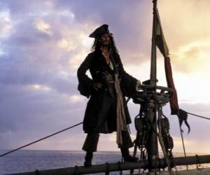 Puzle Capitão na vigia ou posto de observação