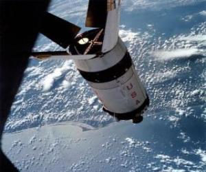 Puzle Cápsula espacial