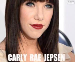 Puzle Carly Rae Jepsen é uma cantora e compositora canadense