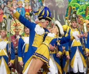 Puzle Carnaval de colônia, Alemanha