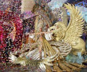 Puzle Carnaval de Santa Cruz de Tenerife, Espanha