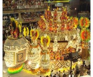 Puzle Carnaval Rio