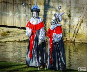 Puzle Carnaval Veneza